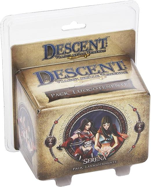 Giochi Uniti Juegos de EE.UU. - Descenso Teniente Serena, Accesorio para Descent: aa.vv.: Amazon.es: Juguetes y juegos