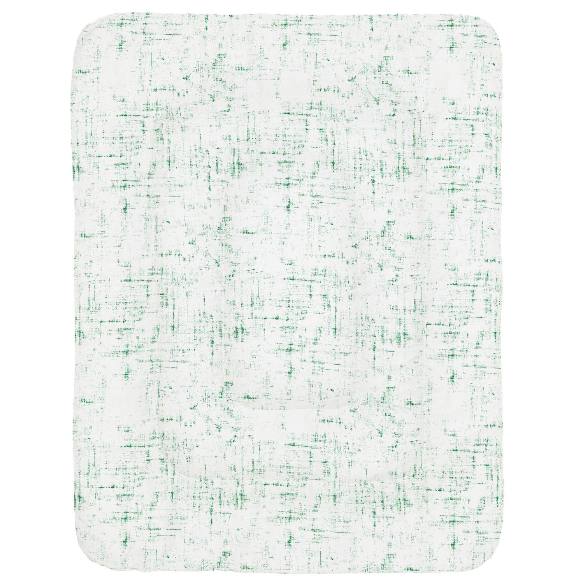 Carousel Designs Green Distressed Crib Comforter