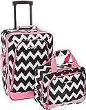 Rockland 2 Piece Expandable Luggage Set