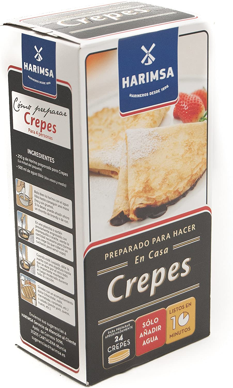 Preparado Para Crepes Harimsa 500G.: Amazon.es: Alimentación y bebidas
