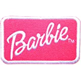 Barbie Doll Cartoon Logo Girl Kid Jacket T shirt Patch Sew Iron on Embroidered Symbol Badge Cloth Sign Costum Gift By Prinya Shop