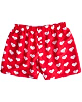 Schön Silk Heart Boxers By ROYAL SILK   Valentineu0027s Day   White On Red   Menu0027s