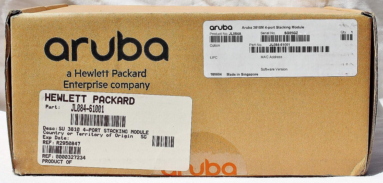 HP JL084A Aruba 3810M 4-Port Stacking Module - JL084-61001