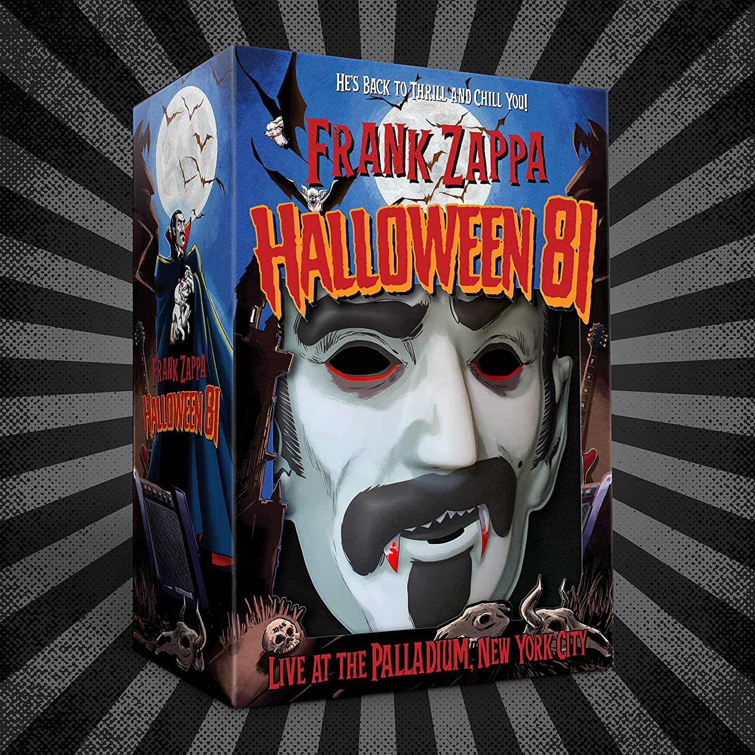 Halloween Nyc Nov 2 2020 Frank Zappa   Halloween 81: Live At The Palladium, NYC [6 CD