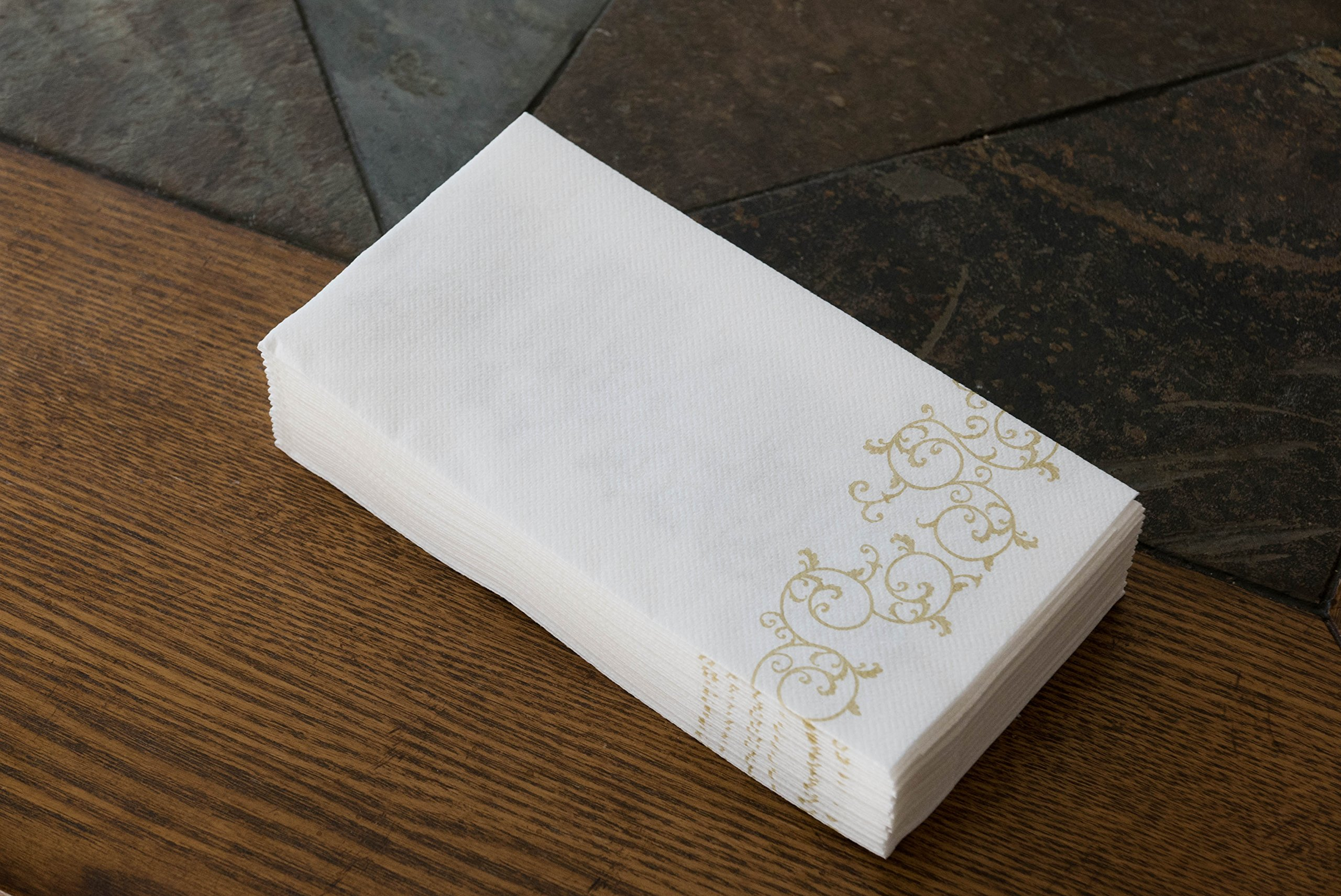 Galleon simulinen decorative linen feel bathroom hand - Decorative hand towels for bathroom ...