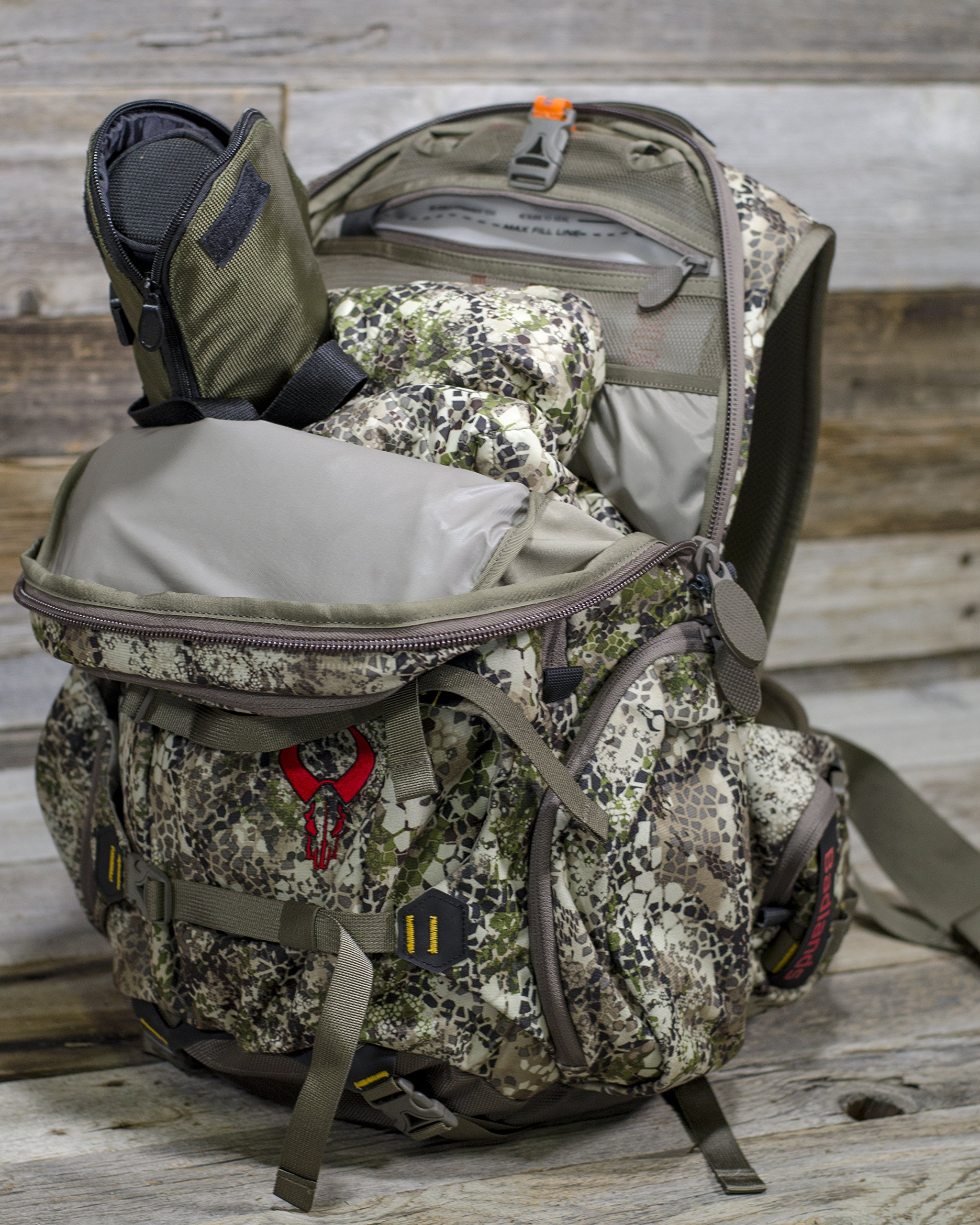 Badlands Superday Camouflage Hunting Backpack - Bow, Rifle, and Pistol Compatible, Approach Camo by Badlands (Image #5)