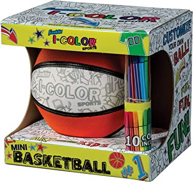 Customize Your Own Ball Franklin Sports I-Color Sports Ball Basketball or Soccer Ball Football