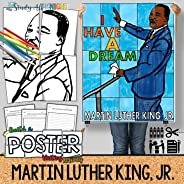 """Collaborative Poster and Writing Activity for Martin Luther King Jr., """"I Have a D"""
