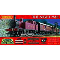 Hornby R1144 LMS Night Mail 00 Gauge Electric Model Train Set