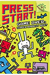 Press Start! #01 Game Over a Branches Book: Super Rabbit Boy! Paperback