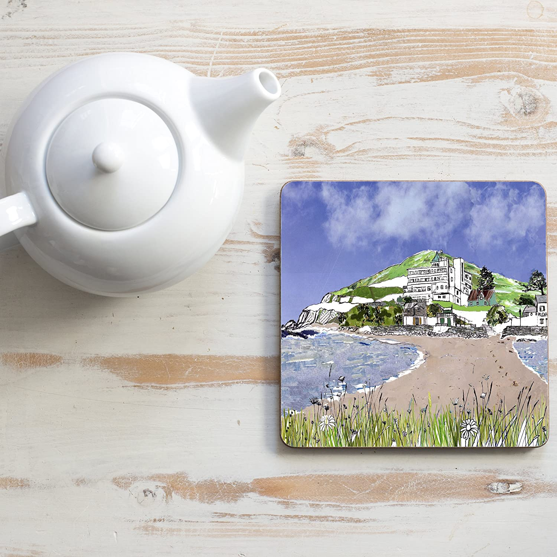 Burgh Island Square Teapot Stand Emmeline Simpson