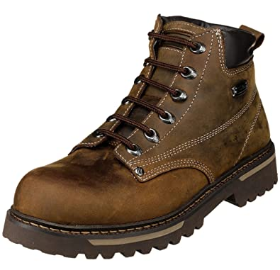 skechers lace up boots