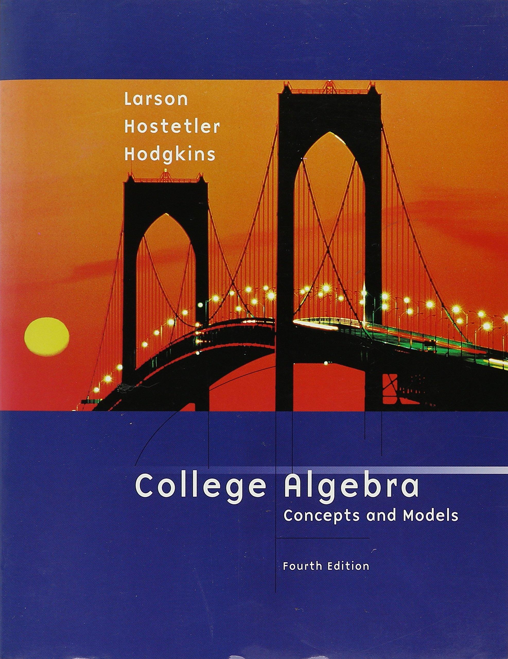 College Algebra Concepts and Models, Custom Publication PDF Text fb2 ebook