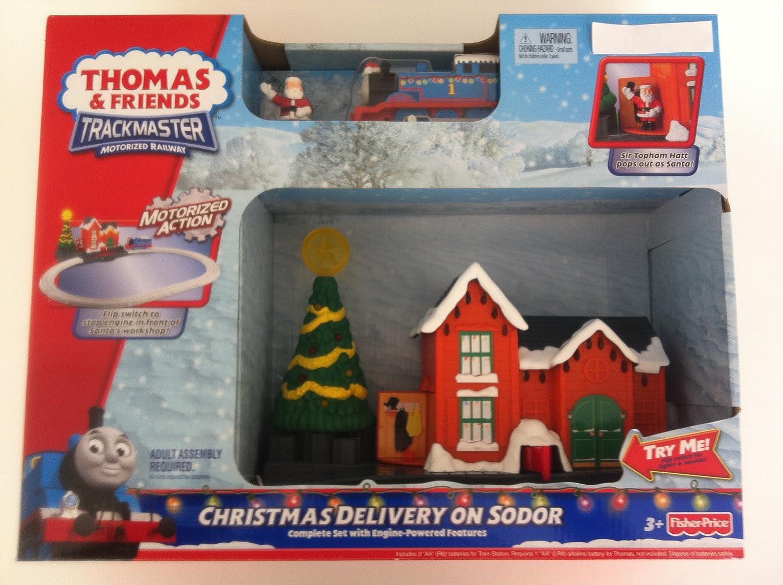 Amazon.com: Fisher-Price Thomas & Friends TrackMaster Christmas ...