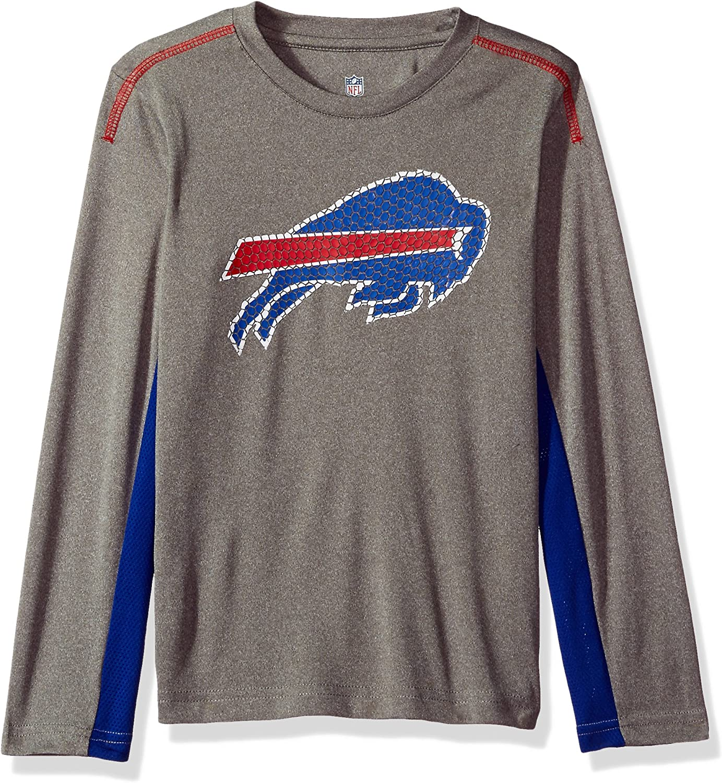 Outerstuff NFL Youth Buffalo Bills Long Sleeve Team Logo Tee