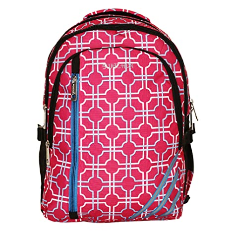 Travalate 32 litres Casual Backpack School Bag (Pink 3 line)  Amazon.in   Bags fd1c451d7cba3