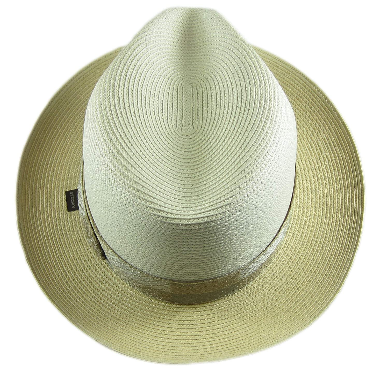 Stetson Mens Andover Florenine Milan Straw Hat