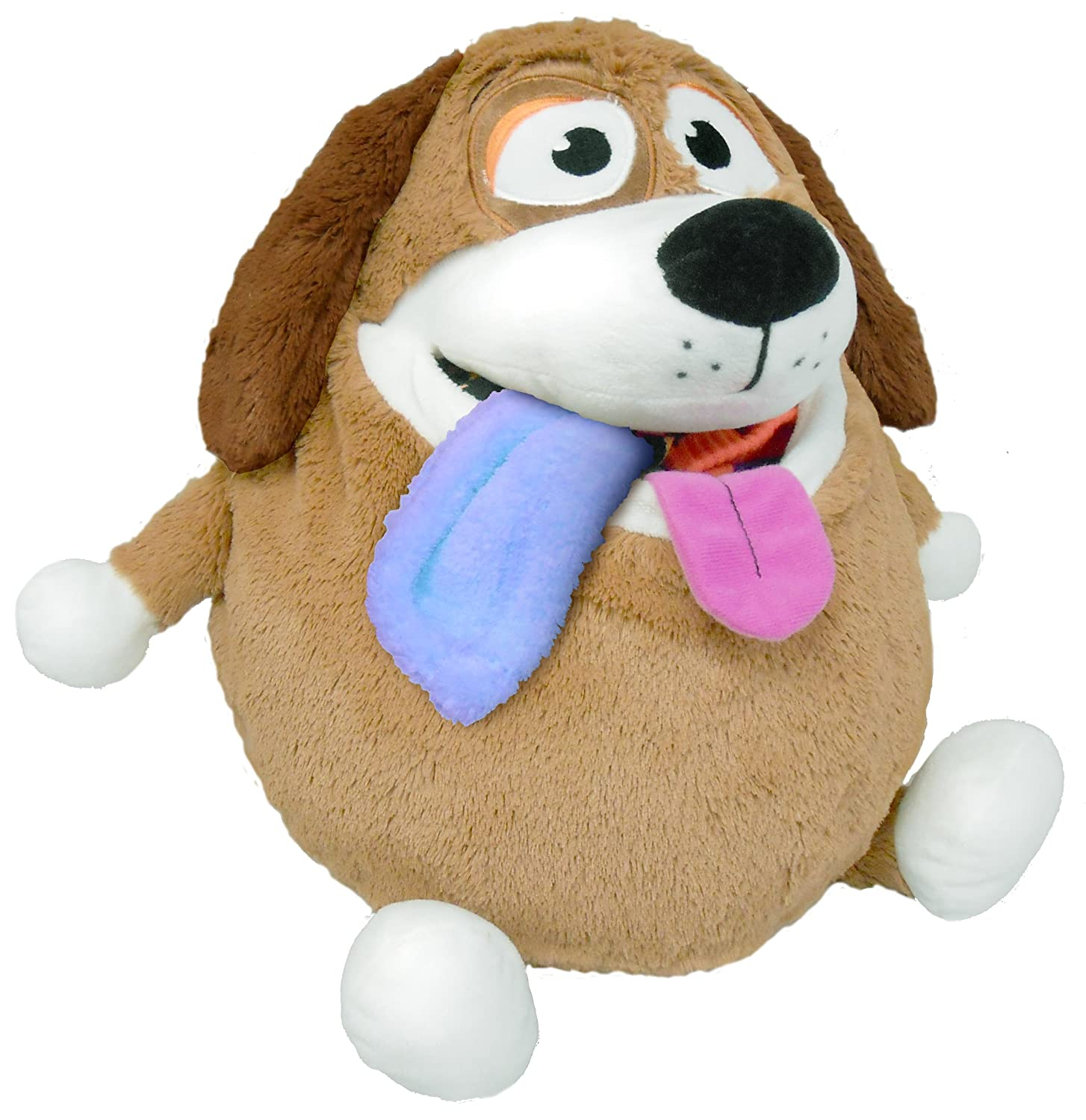 Amazon Tummy Stuffers Tan Dog Plush Toy Toys & Games