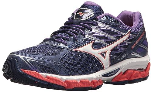 finest selection 287dc a0b2d Mizuno Women s Wave Paradox 4 Running Shoe, Patriot Blue White, ...