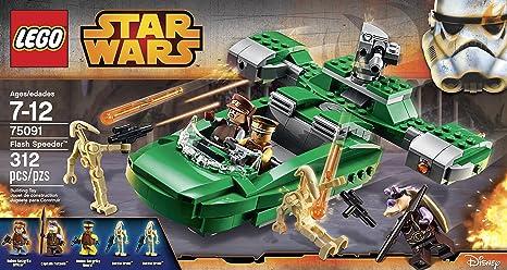 LEGO Star Wars Naboo Flash Speeder 75091 *SPEEDER AND MANUAL ONLY ...