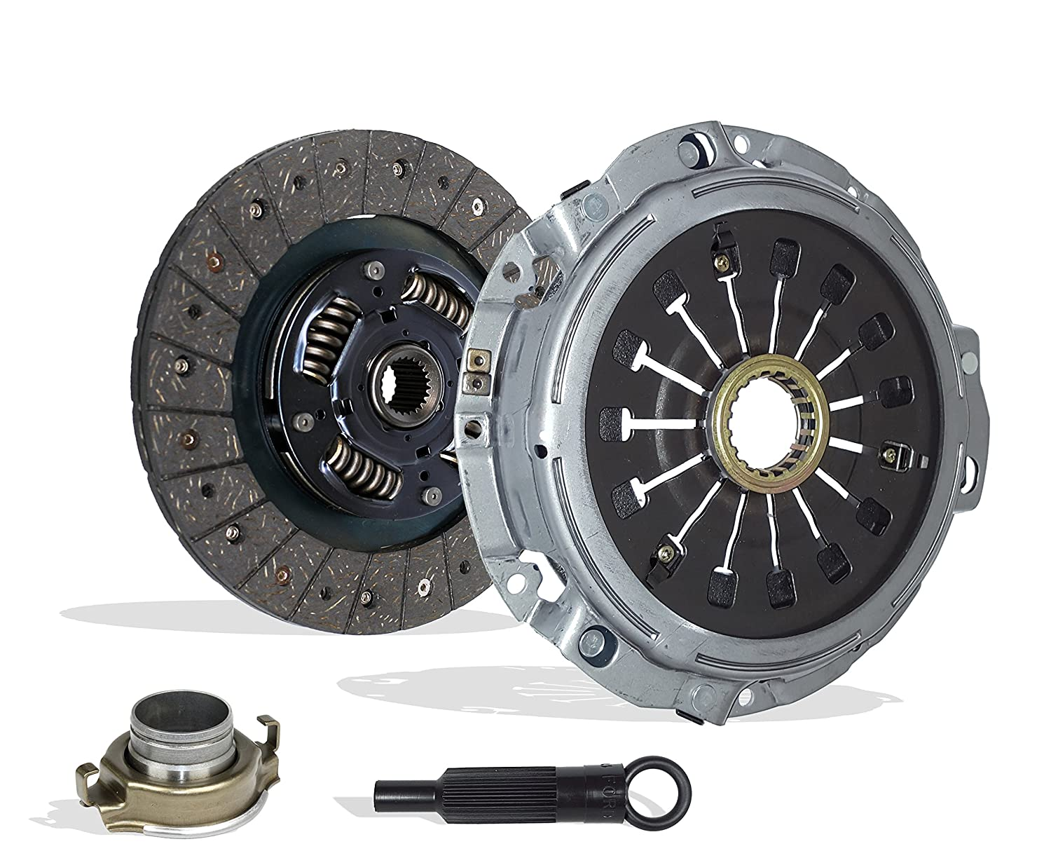 Amazon.com: Clutch Kit Works with Mitsubishi Eclipse Spyder Gt Gts Convertible Hatchback 2-Door 2000-2005 3.0L 2972CC 181Cu. In. V6 GAS SOHC Naturally ...