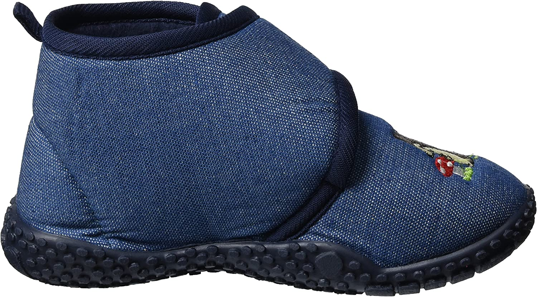 Playshoes Chaussons Tricot/és Pantoufles Semelle Antid/érapante Mixte Enfant