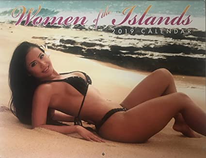 Amazon Com 2019 Hawaii Wall Calendar Women Of The Islands