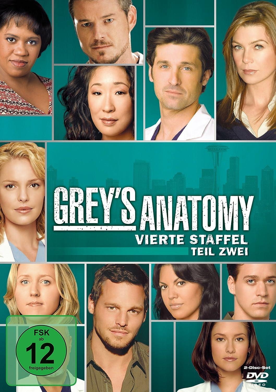 Grey\'s Anatomy: Die jungen Ärzte - Vierte Staffel, Teil Zwei 2 DVDs ...
