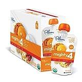 Amazon Price History for:Plum Organics Mighty 4, Organic Toddler Food, Pumpkin, Carrot, Banana, Pomegranate, Greek Yogurt, Quinoa & Oat, 4 oz. pouch (Pack of 12)