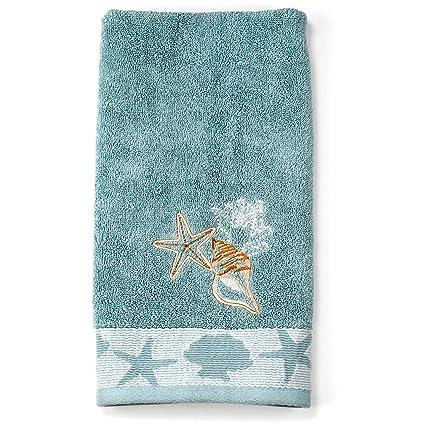 Better Homes And Gardens Coastal Tip Towel (Hand Towel)