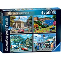 Ravensburger 15032 Happy Days Collection No.1 Look North 4X 500pc Jigsaw Puzzle,