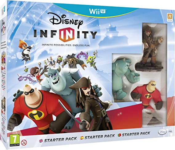 Disney Infinity Starter Pack: Amazon.es: Videojuegos