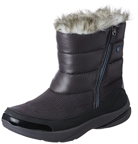 8e31857ea80 BZees Women s Luscious Grey Boots - 4 UK India (37 EU)(5512853)  Buy Online  at Low Prices in India - Amazon.in