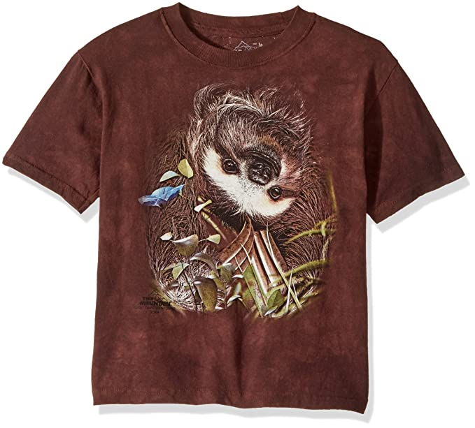 57bd8e400c1 Amazon.com  The Mountain Kid s Sloth T-Shirt  Clothing