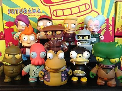 "MORBO-Futurama série 1-OUT OF PRINT 3/"" VINYL Figure par Kidrobot"