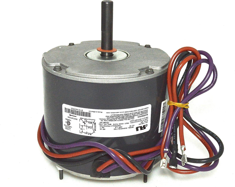 OEM Emerson Trane Condenser FAN MOTOR 1/4 HP 208-230v K55HXFDH-7740