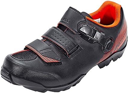SHIMANO SHME3PG470SO00 - Zapatillas Ciclismo, 47, Negro - Naranja, Hombre