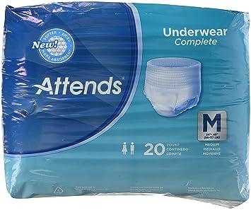 e180ba45d02 Image Unavailable. Image not available for. Color  Attends Super Plus  Underwear ...