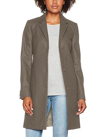 reputable site a3732 c4cc6 Gant Wool Cashmere Coat, Giacca Donna, Grigio (Grey Melange ...