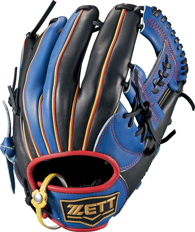 ZETT(ゼット) ソフトボール グラブ (グローブ) リアライズ オールラウンド 右投用(LH) BSGB52810 B077BV49JTブルー/ブラック(2319)