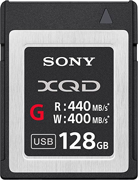 Sony Professional XQD G-Series 128GB Memory Card (Discontinued)