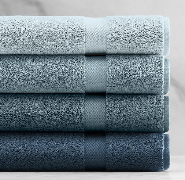 802-Gram Turkish Towel Collection - Powder