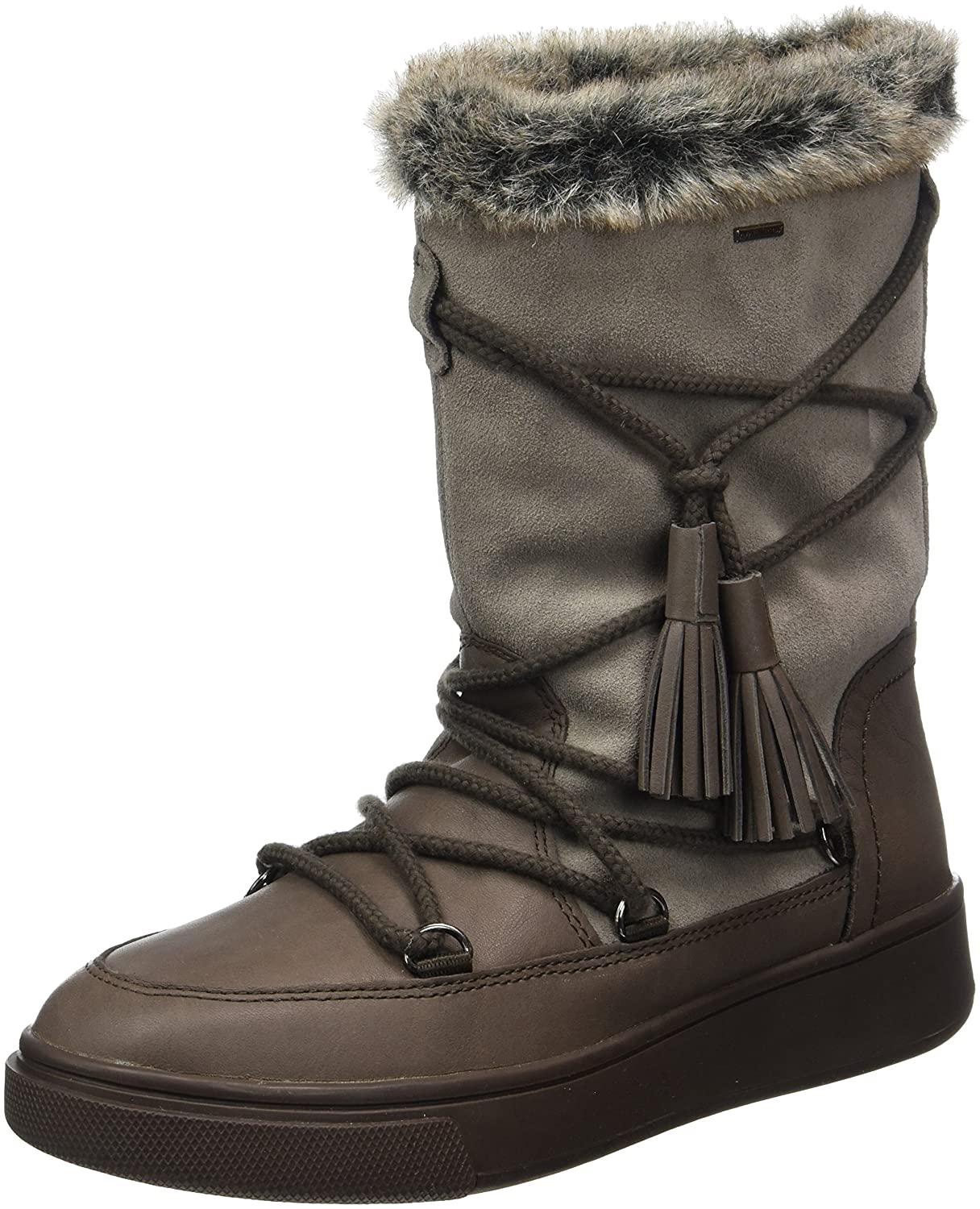 Chestnut  Taupe Geox Women's D MAYRAH B ABX A Snow Boots