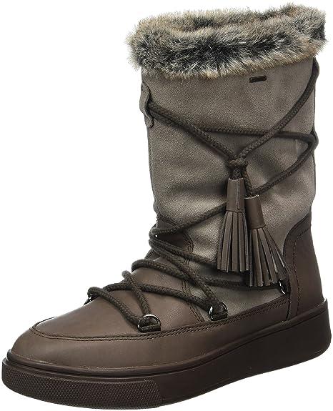 Geox D Mayrah B ABX A, Botas de Nieve para Mujer: Amazon.es: Zapatos y complementos