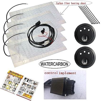 Amazon.com: Cojín con interruptor de calefacción de 3 ...