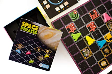 Kitki Space Pirates Fun Science Game Based On Newton's Laws STEM Toy Gift  for Boys & Girls