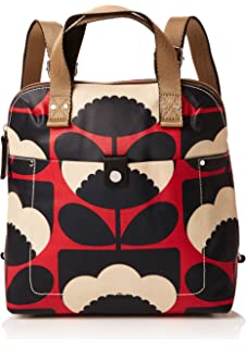 20cb4ffe3099 Orla Kiely Shiny Laminated Shadow Flower Print Backpack  Amazon.co ...