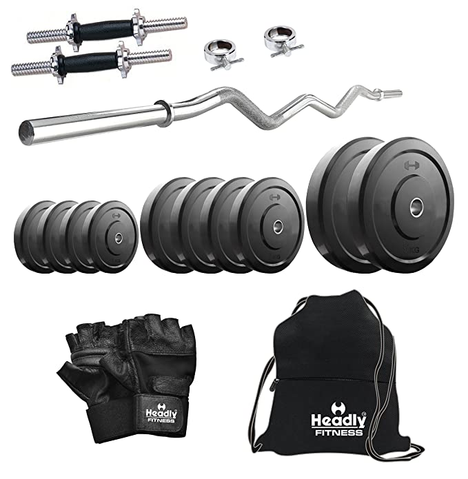 Headly 10kg Combo 4 Home Gym Exercise Sets