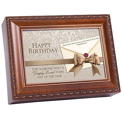 Amazon.com: Cottage Garden Feliz cumpleaños Música Box/Caja ...