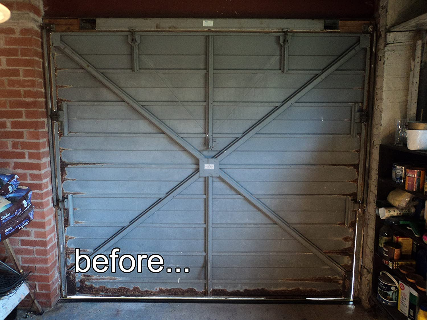 insulated your door garage diy gal insulate
